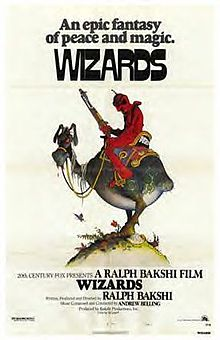 """Čarobnjaci"" (Wizards, 1977), poster"