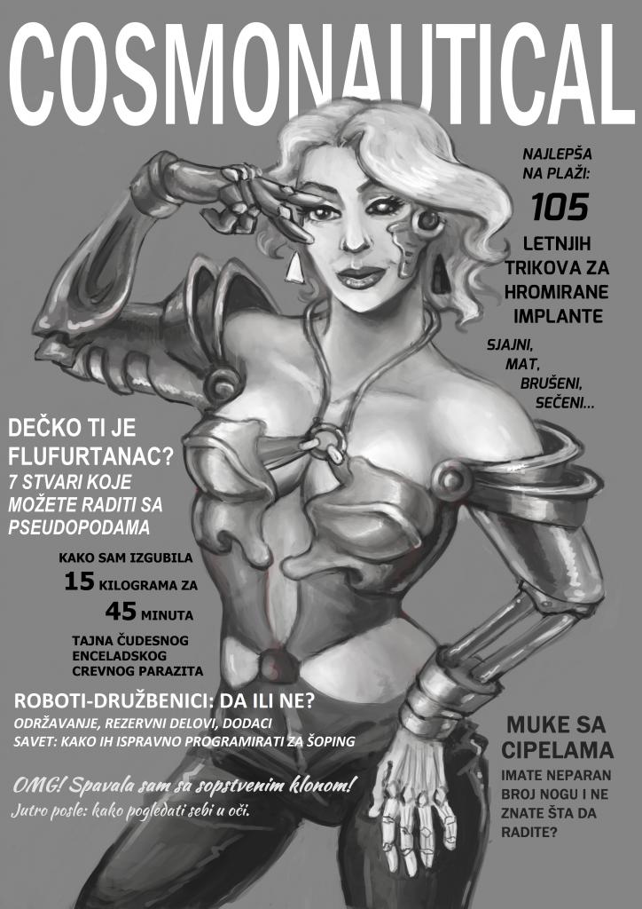 Cosmonautical - Ana Milojković (ilustracija) i Miloš Petrik (tekst) - Budućnost, odmah!