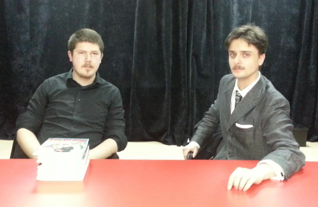 Aleksandar Nešić, Miloš Petrik, i kamara stripova