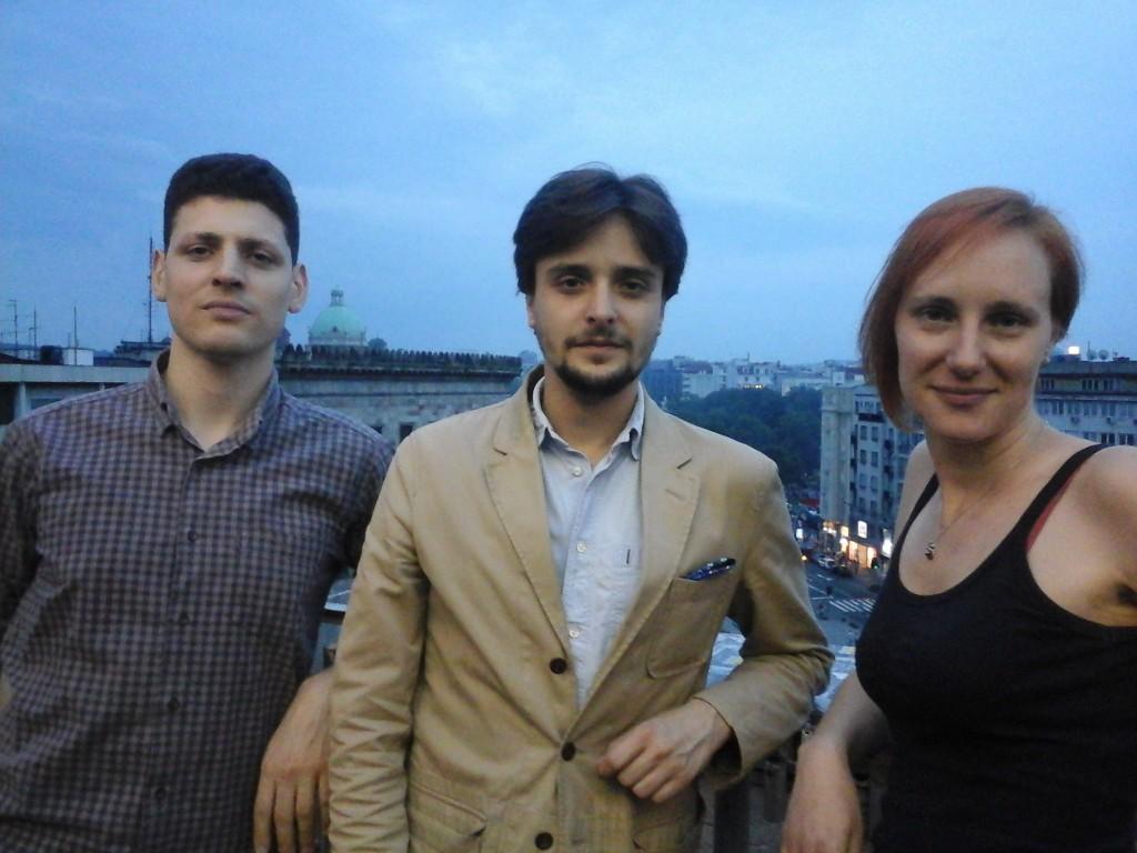 Vrli finalisti Andrej Bjelaković, Miloš Petrik, i Sofija Vuković