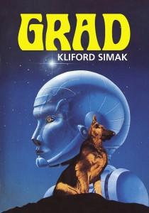 """""""Grad"""", Kliford Simak - naslovnica domaćeg izdanja - preuzeto sa sajta simak-bibliography.com"""