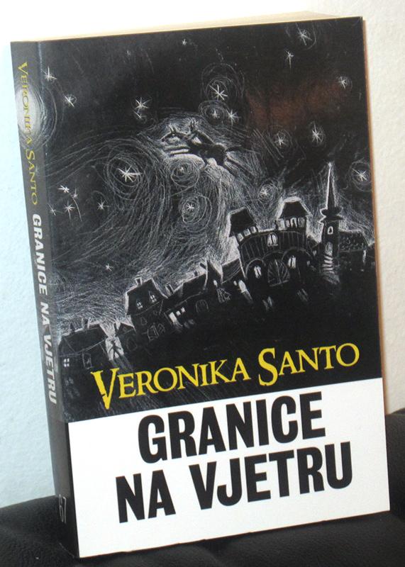 Veronika Santo, Granice na vjetru; korice prvog izdanja