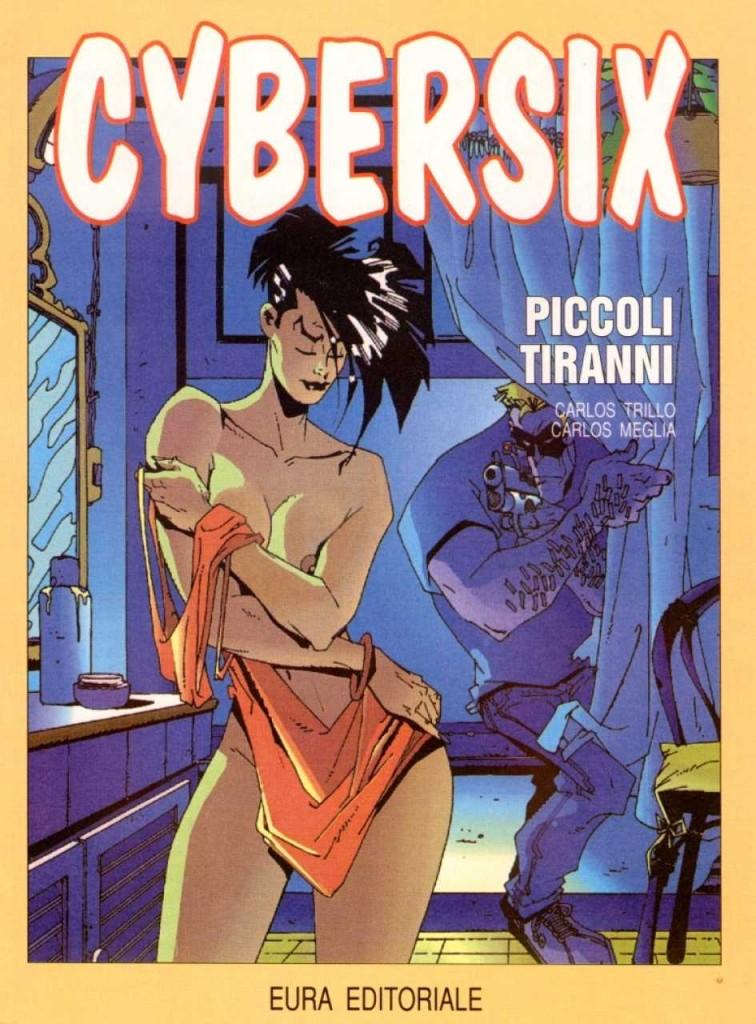 Cybersix, korice italijanskog izdanja