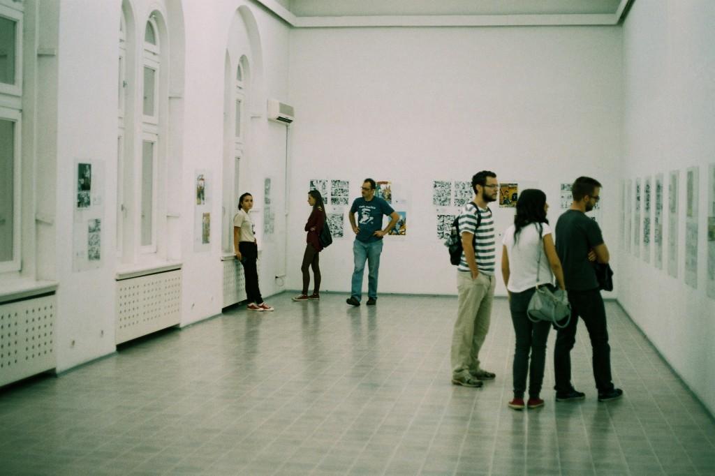 Velika sala, izložba Valtera Venturija