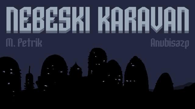 Nebeski karavan - naslovna; Petrik, anubisazp