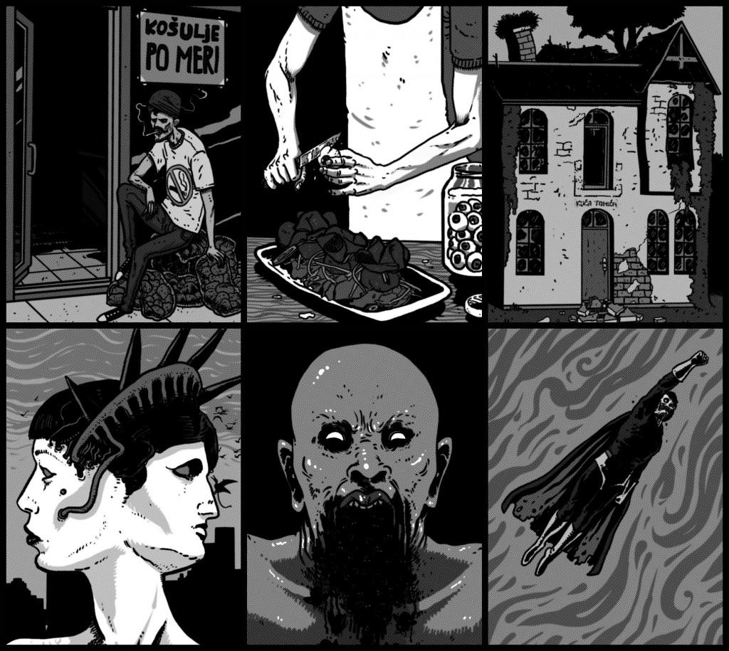Ilustracije Aleksandra Petrikanovića